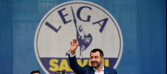 Salvini a Milano mostra il volto rassicurante delsovranismoeuropeo