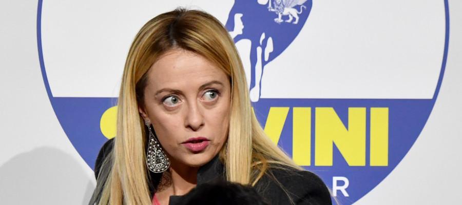 Meloni: mai più con Forza Italia, saremo alleati solo con Salvini