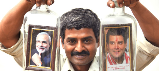 elezioni india modi ghandi