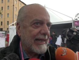 """De Laurentiis: """"Prenderei subito De Rossi. Non è che la Roma è stata già venduta?"""""""