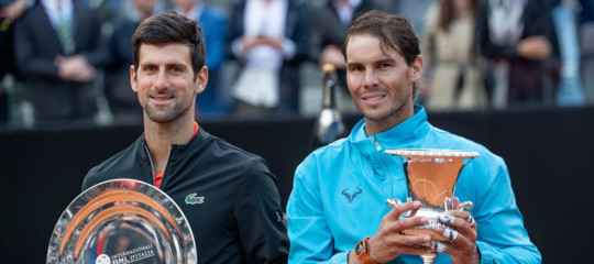 finale internazionali roma Nadaldjokovic