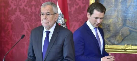 Austria cacciato ministro interno sì a governo esperti