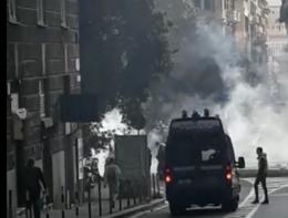 Comizio di Casapound a Genova. Scontri tra antifascisti e polizia