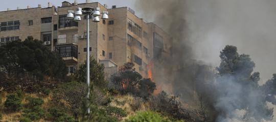 incendi gerusalemme israele