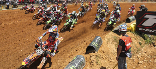 Motocross Cavallaramuore pilota