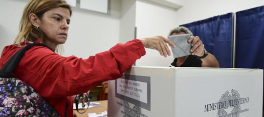 elezioni europee affluenza