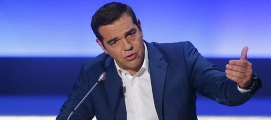 Europee GreciaTsipras annuncia elezioni anticipate