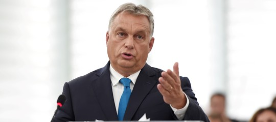 Europee UngheriaOrban stravince