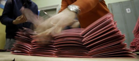 schede elettorali macero