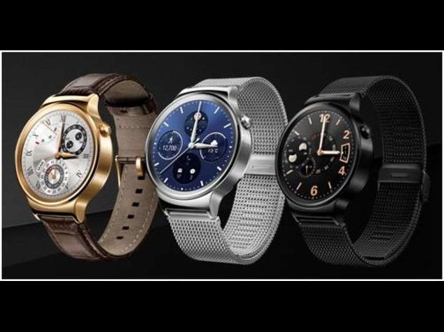 Huawei scommette su uno smartwatch con diplay circolare Amoled