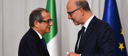 Moscovici con Italia dialogo