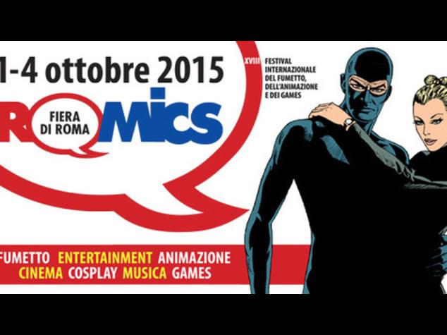 Torna Romics, Diabolik protagonista alla mostra-mercato del fumetto - Video