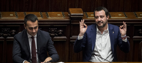 Incontro Salvini Di Maio