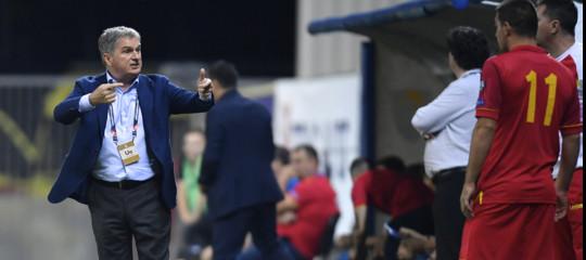 kosovo montenegro allenatore licenziato