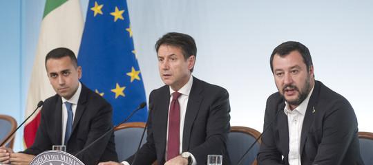 I temi al centro del vertice in corso tra Conte, Di Maio e Salvini
