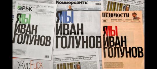 russia rilasciato golunov