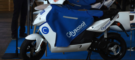 cityscoot scooter elettrici sharing