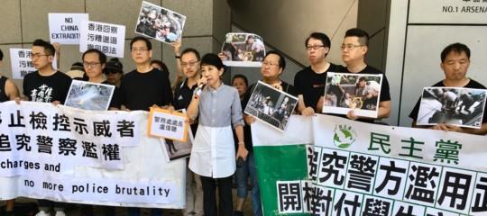 hong kong proteste legge estradizione