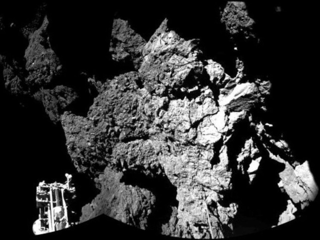 """""""Buongiorno Terra"""", Philae si risveglia sulla cometa dopo 7 mesi di sonno"""