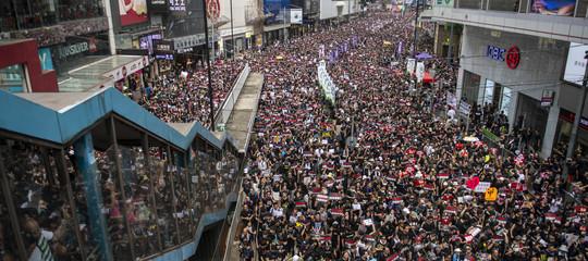 proteste hong kong estradizione