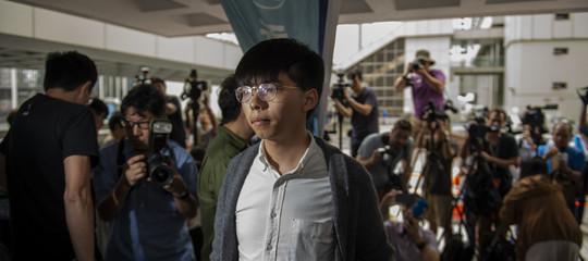 Hong Kong attivisti arrestati manifestazione cancellata