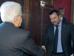 """Salvini a Mattarella: """"Conti in disordine a causa delle regole della Ue"""""""