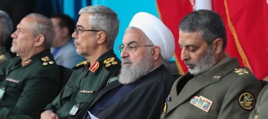 Iran Pasdaran aereo con 35 a bordo