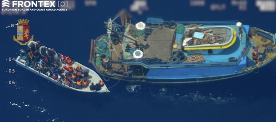 Il video che documenta come funziona la tratta dei migranti