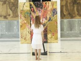 """A Roma arriva Aelita Andre, la """"Pollock"""" del terzo millennio"""
