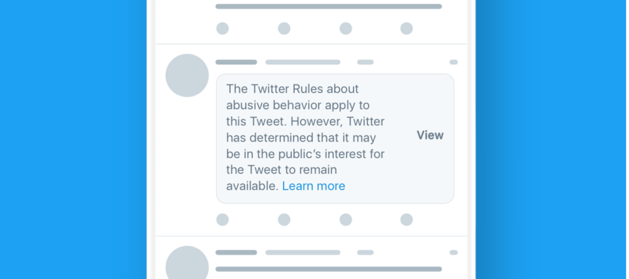Il nuovo bollino di Twitter contro imessaggi d'odio (che potrebbe colpire Trump)