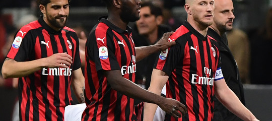 Europa League Milan escluso