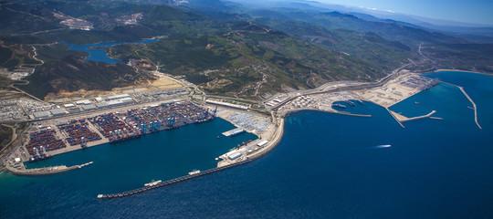 porto di tangeri mediterraneo