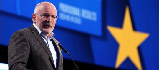 timmermans commissione europea candidati
