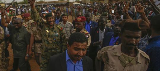 sudan tensione esercito marcia un milione
