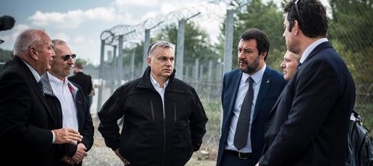 muro migranti friuli slovenia progetto salvini