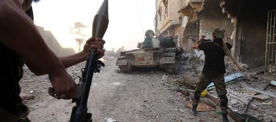 bombardamento libia tripoli morti
