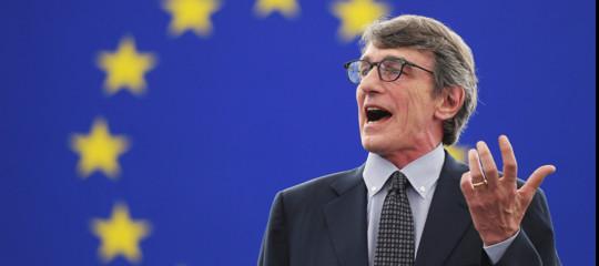 sassoli presidente parlamento europeo