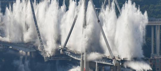 ponte morandi risarcimenti esplosione