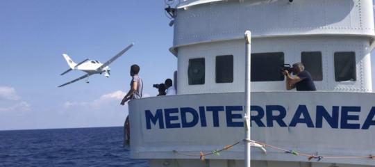 migranti mediterranea