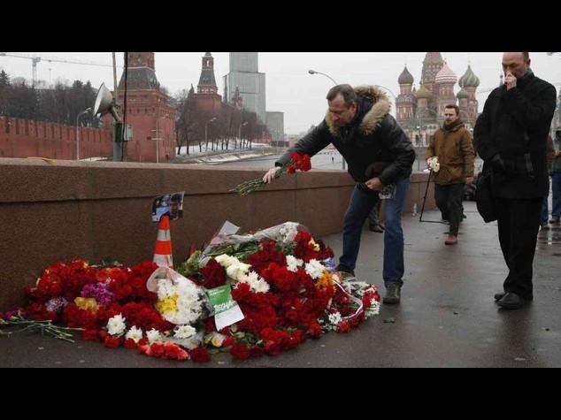 Russia: due fermati per l'omicidio Nemtsov, sono di origine caucasica