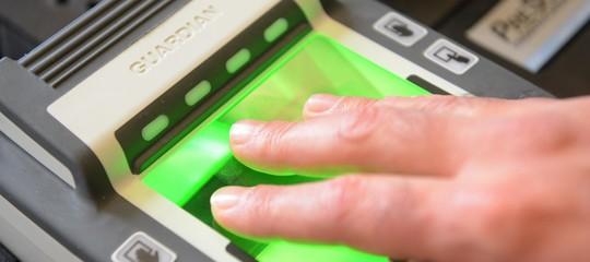 impronte digitali dipendenti pubblici