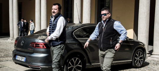 Mafia Salvini sostegnoBorrometi