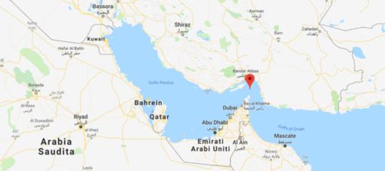 navi iran petroliera sequestro