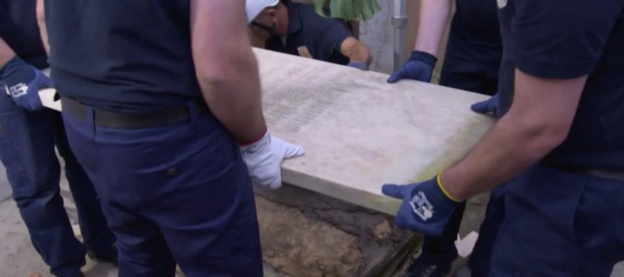 Emanuela Orlandi, il video dell'apertura delle tombe