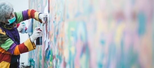 graffiti terapia anziani