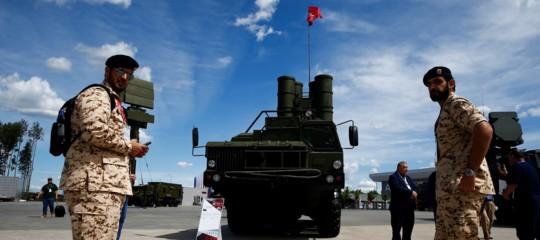 missili russi alla turchia