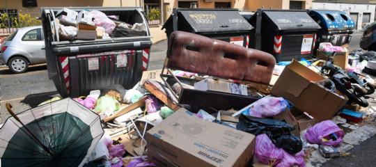 rifiuti roma piano smaltimento