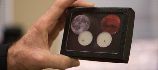 dove sono rocce luna