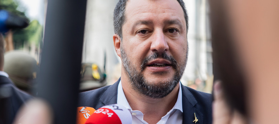 """Salvini: """"M5s e Pd sono già al governo insieme, per ora in Europa"""""""
