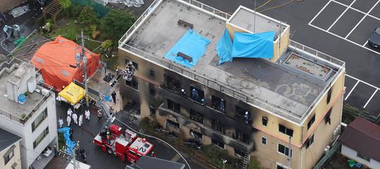 strage kyoto studio manga incendio morti